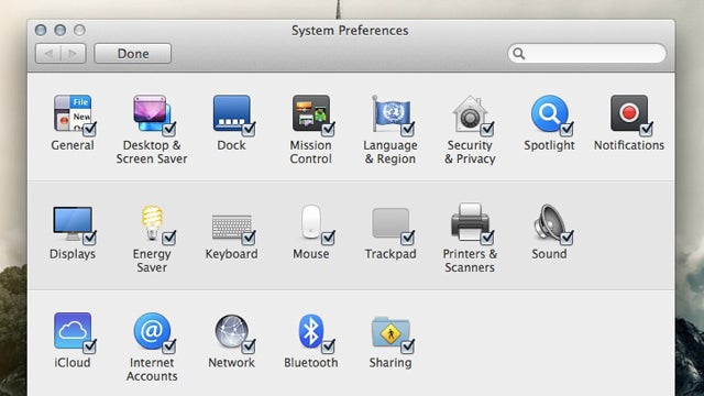How to Hide Icons in OS X's System Preferences