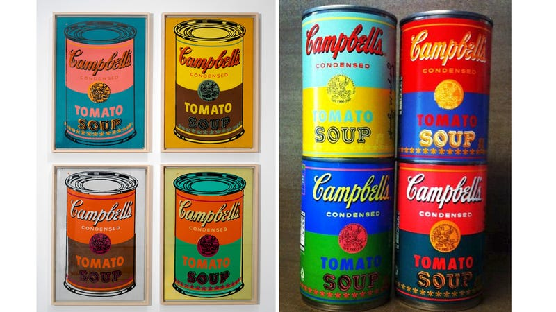 Real-Life Andy Warhol Campbell's Soup Cans Make Your Pantry a Canvas