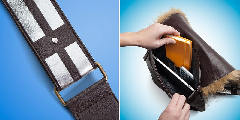A Wookiee Was Probably Shaved So You Could Have a Chewbacca Shoulder Bag