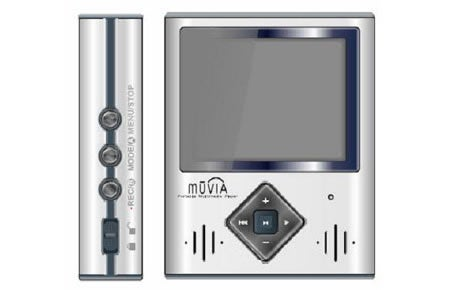 NHC's Muvia Portable Media Player: All Show, Some Go
