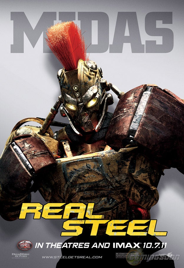 Real Steel Character Posters
