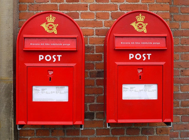 Paying for Postage Over SMS Launching Soon in Denmark