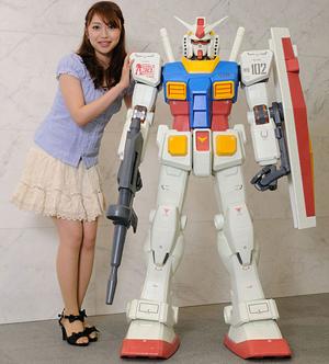 Gundam Or Burning Alive? Hrm...