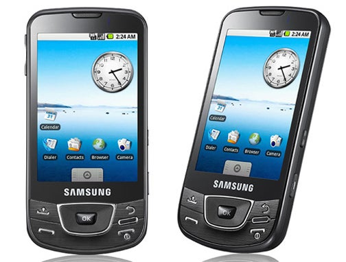 Hands On Samsung's Galaxy i7500 Android Haptic Smartphone