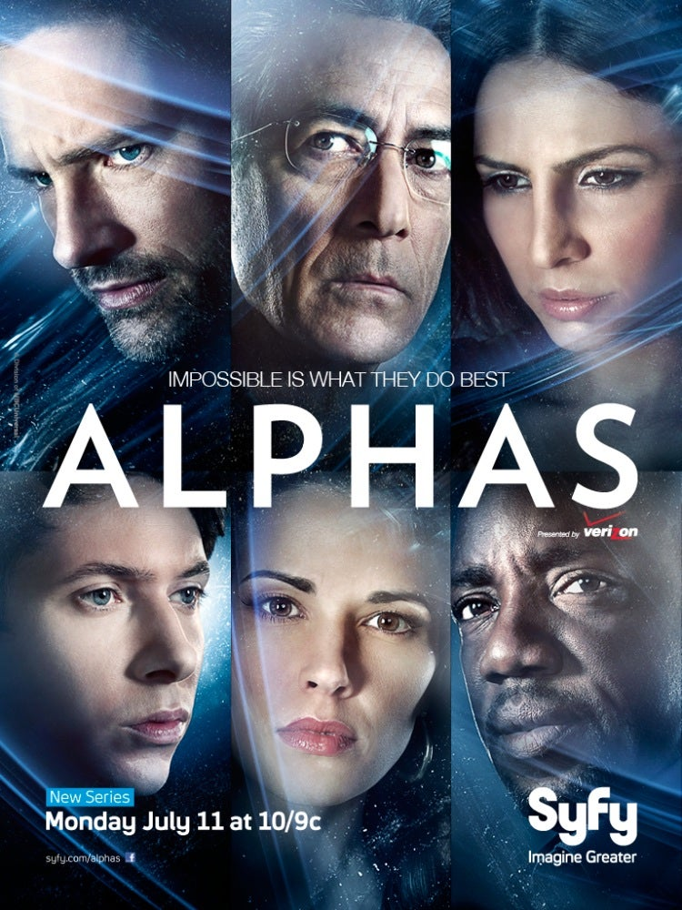 Alphas Poster and Pics