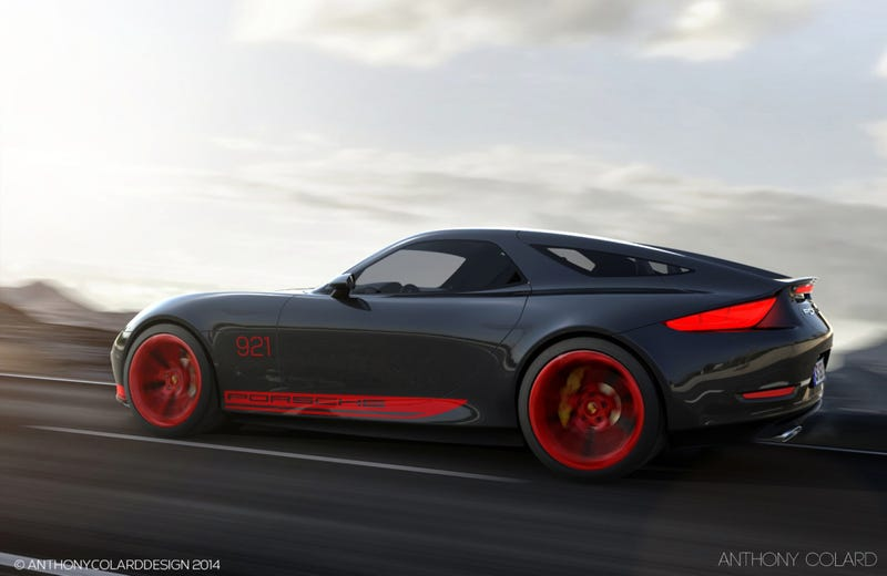 This Is What A Modern Porsche 928 Could Look Like