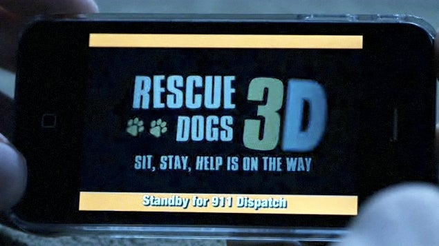 SNL Rescue Dogs 3D 911 App Works, Eventually