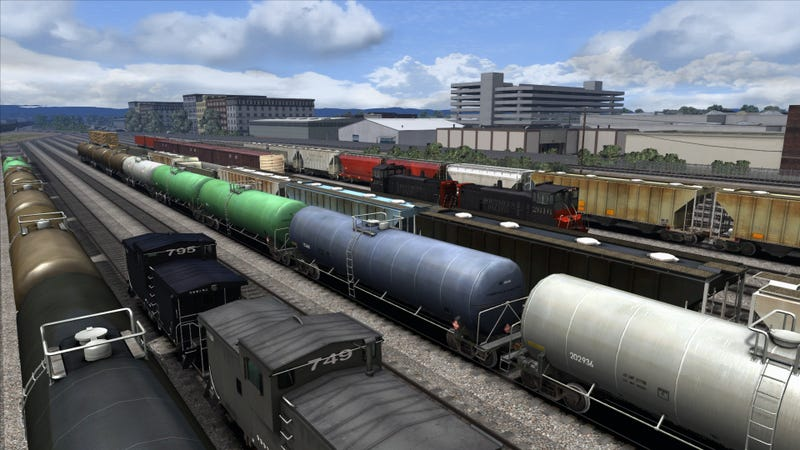 The Thrill--Yes, The Thrill--Of A Game Called Train Simulator