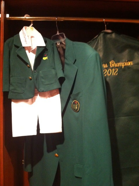 Bubba Watson Continues Charming The Pants Off Everyone, Has Custom Green Jacket Made For Infant Son