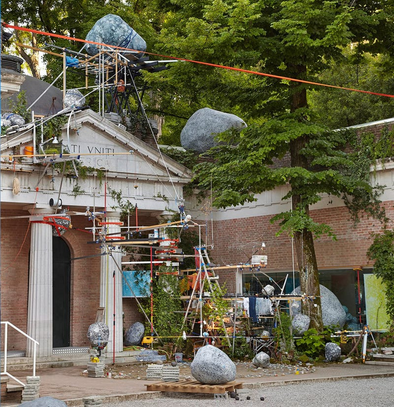 The Sculptor Who'll Represent America in the Art World's Battle Royale