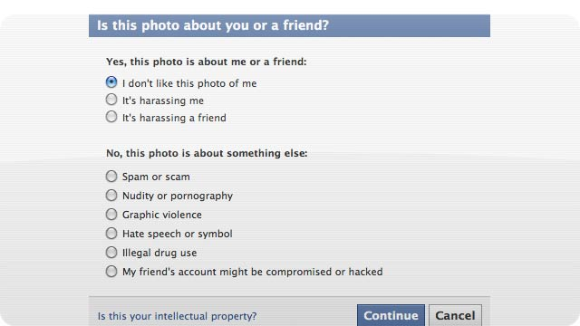 People Flag Facebook Photos Because They Look Ugly, Not Because They're Offensive