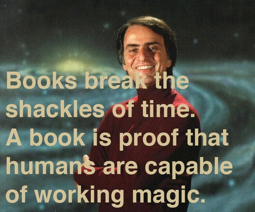It's Carl Sagan's birthday! Time to party like the starstuff that we are.