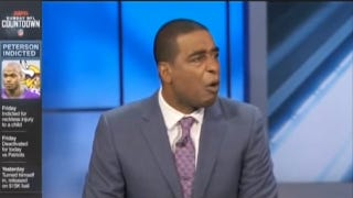 "Emotional Cris Carter On Child Abuse: ""My Mom Was Wrong"""
