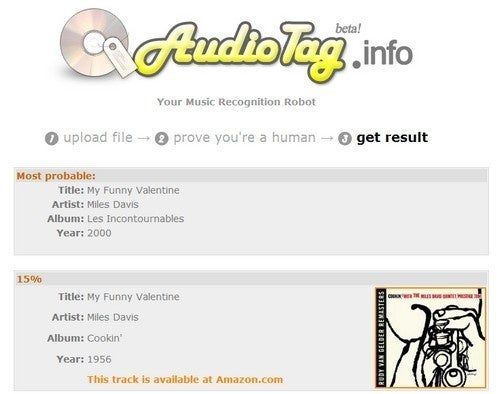 AudioTag Helps Name Music Found in Files and Video