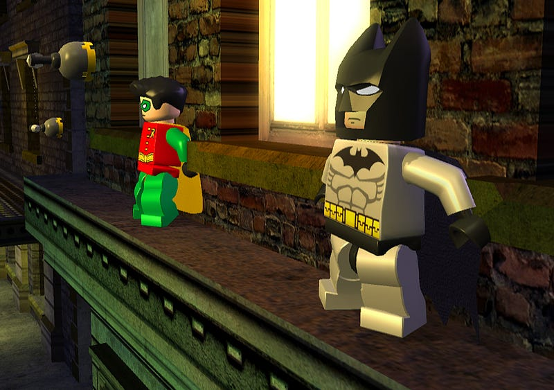 Two-Face Joins Lego Batman's Rogues Gallery