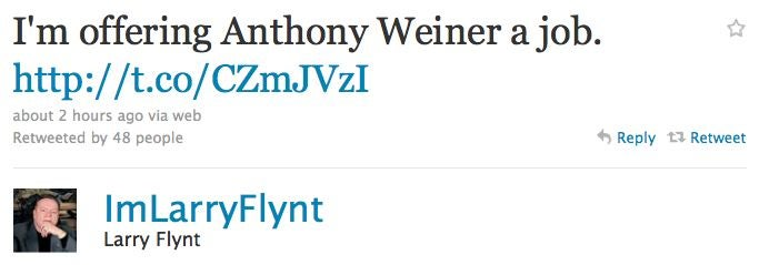 Celebs React To Weiner's Resignation