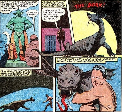 "Meet ""The Dork,"" the most fearsome beast in comic book history"