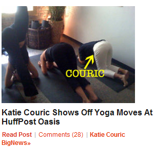 Everyone Likes Katie Couric Again!