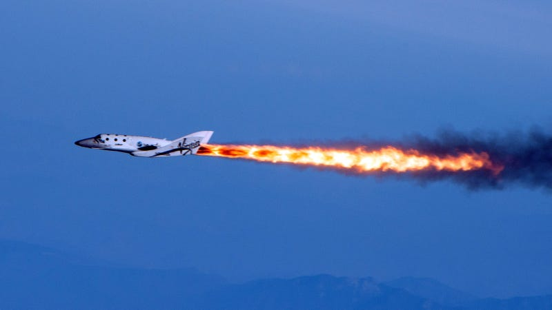 Today Marks Virgin Galactic's First Rocket-Powered Test Flight