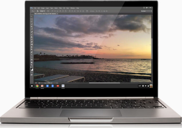 Adobe Photoshop Is Coming to Chromebook