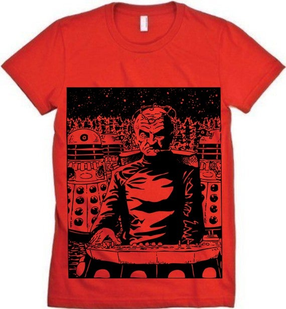 The Coolest Doctor Who T-Shirts in the Space-Time Continuum