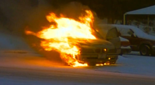 BMW Burns Like Atlanta Because Of A Little Snow