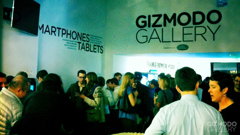 Gizmodo Gallery Opening Party
