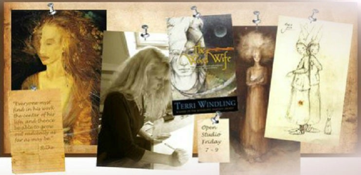 Own a Piece of Magic, and Help Author/Editor Terri Windling