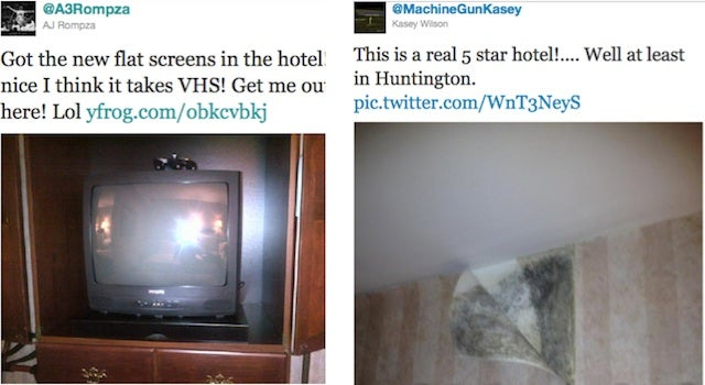 UCF Basketball Team Can't Believe The Sorry State Of West Virginia Hotels Before Big Game Against Marshall