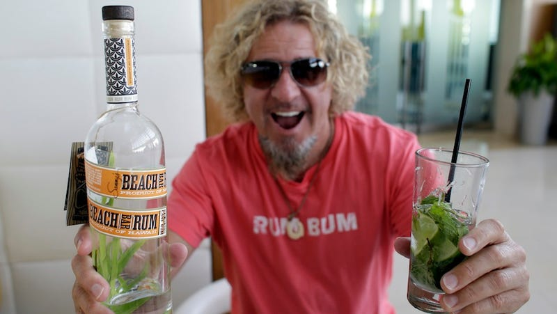 Sammy Hagar, Former Fan of Tequila, Is Now A Fan of Rum