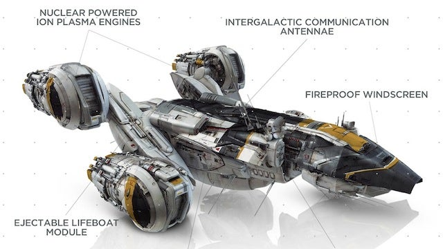 Check out Weyland Industries' diagram of the USCSS Prometheus