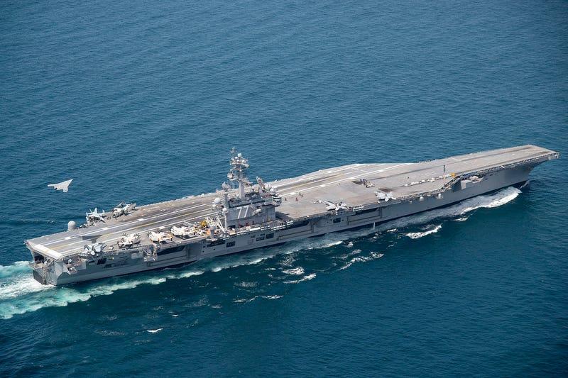 X-47B Lands on USS George H.W. Bush