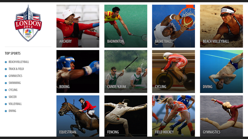 NBC Olympics Live Extra Lets You Watch Every Second of the 2012 Summer Games on a Smartphone or Tablet