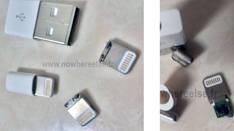 Is This Apple's New iPhone Dock Connector?