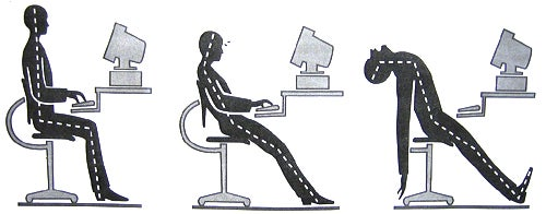 Better Posture Means More Energy at Work