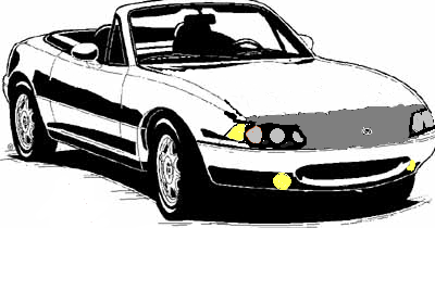 The Paintshop Special Fixed Headlight NA Miata