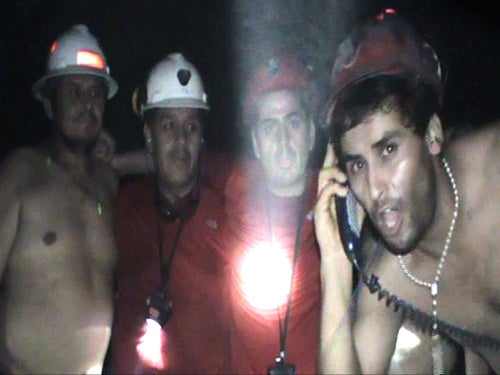 Trapped Chilean Miners Get Shafted: New Hole, Still No Booze