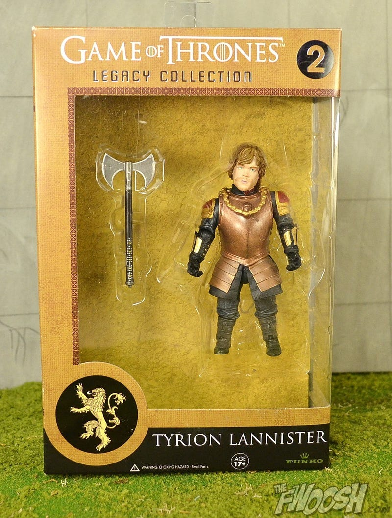 Here's an even better look at Funko's GoT Figures - including Tyrion!
