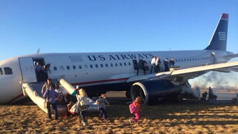 A Plane Just Skidded Off the Runway at a Philadelphia Airport