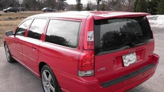 This 2006 Volvo V70R Wants $30,000, Is Really Red