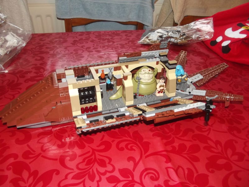 Lego Sail Barge get!