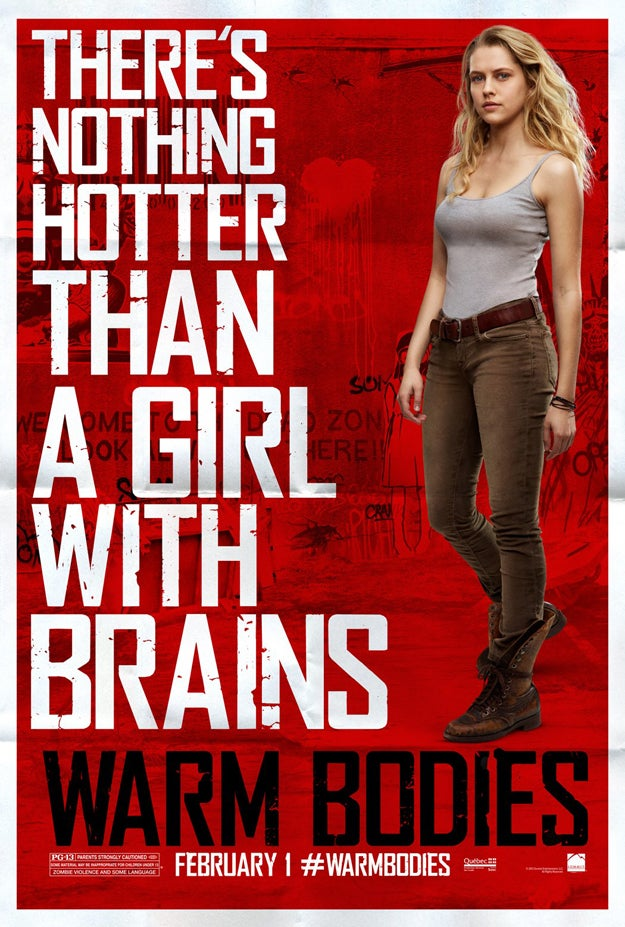 Warm Bodies Posters