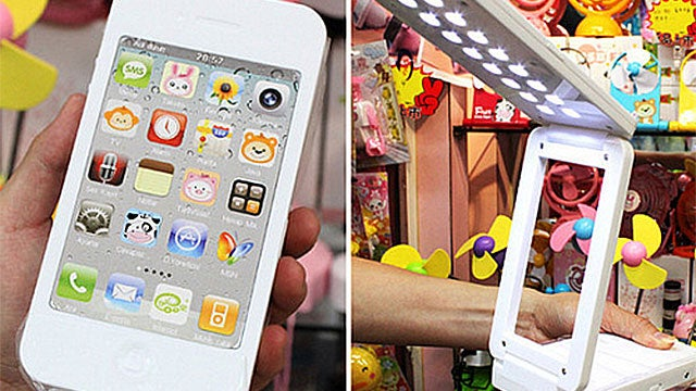 An iPhone 4 That'll Light Your Desk
