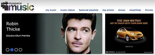 MySpace launches music site, biz prays it's the next MTV