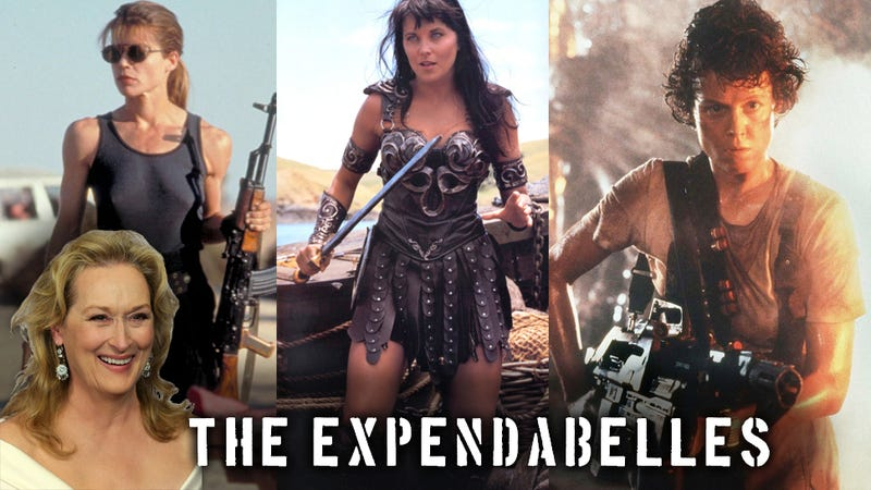 Oh God, Meryl Streep to Star in 'Expendables' spinoff 'ExpendaBelles'?