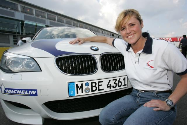 BMW's M3 Nürburgring Taxi is in, Sabine Schmitz is out
