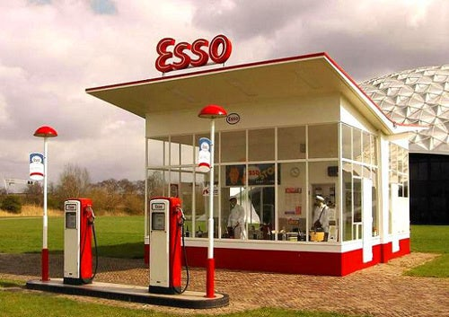 The Top 15 Modernist Gas Stations