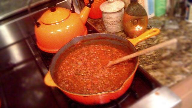 Chef Anthony Thomas' Roasted Garlic and Spaghetti Sauce