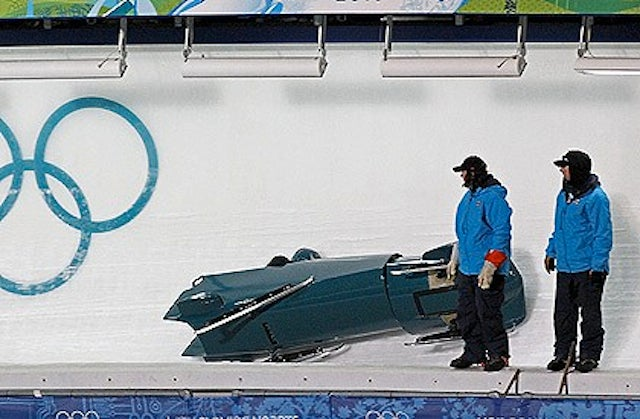 "Canadian Bobsleigher Almost Killed By ""Wood In His Buttock"""