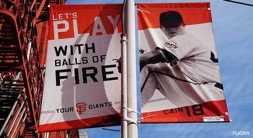 San Francisco Giants Advertising Copy Written By Giggling 12-Year-Olds